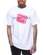 Diamond Supply Co - RADIANT STONE CUT TEE