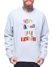 Sweatshirts & Sweaters - Cant Blame The Youth Sweatershirt-2188095