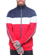 Outerwear - Tricot Color Block Jacket/Taping