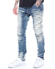 MADBLUE - RIPPED 3D KNEE JEAN