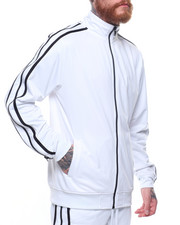 Outerwear - Tricot Zipper Trim Jacket