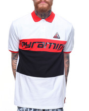 Short-Sleeve - Colorblock Polo Shirt