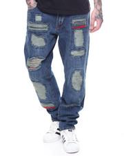 LRG - Patchwork Baggy Taper Jean