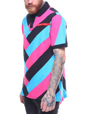 Short-Sleeve - Chevron Polo Shirt