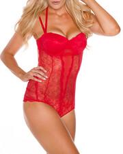 DRJ Lingerie Shoppe - Mesh Bodysuit -2188771