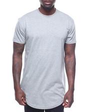Shirts - Long Length Tee w Side Zipper