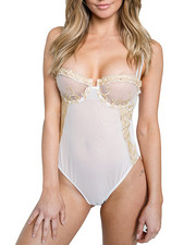 Intimates & Sleepwear - Mesh Teddy