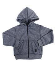 Hoodies - Yarn Dyed Melange Fleece Hoodie (2T-4T)
