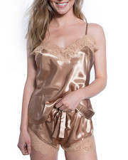 Intimates & Sleepwear - 2 Piece Satin Short Set