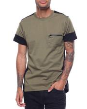 Shirts - ELITE POCKET COLORBLOCK TEE