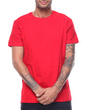 Shirts - LAGUNA PLEATED YOKE TEE