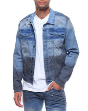 Kilogram - BLUE TINT ZIP UP JEAN JACKET-2189694