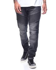 Jeans & Pants - CLUTCH TRAPUNTO MOTO JEAN