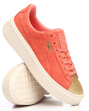 Girls - Suede Platform Glam Jr Sneakers (4-7)-2190110