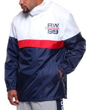 Rocawear - L/S Hooded Windbreaker (B&T)-2190436