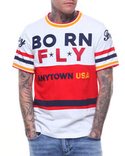 Born Fly - FEDERER EMBROIDERED TEE