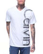Shirts - DOUBLE CALVIN V NECK TEE