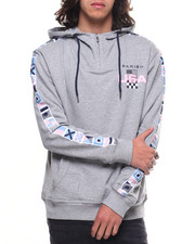 Parish - NAUTICAL FLAG PULLOVER HOODY-2191244