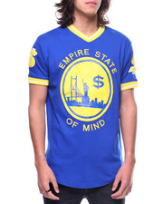 Shirts - EMPIRE STATE OF MIND V-NECK TEE-2191234
