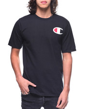 T-Shirts - S/S Heritage Ink Graphic Large C Tee