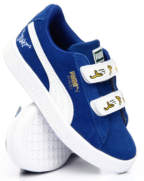 Buy Minions Suede V PS Sneakers (10.5-3) Girls Footwear from Puma ... aae874075