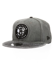 New Era - 9Fifty Brooklyn Nets Rugged Canvas Snapback Hat