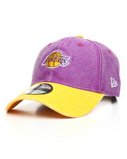 New Era - 9Twenty Los Angeles Lakers Rugged Canvas Strapback Cap
