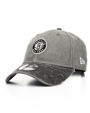 New Era - 9Twenty Brooklyn Nets Rugged Canvas Strapback Cap