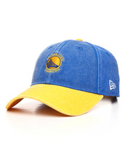 New Era - 9Twenty Golden State Warriors Rugged Canvas Strapback Cap