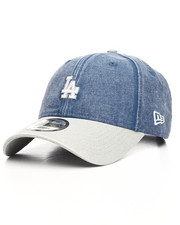 New Era - 9Twenty Los Angeles Dodgers Rugged Canvas Strapback Cap