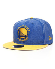 New Era - 9Fifty Golden State Warriors Rugged Canvas Snapback Hat