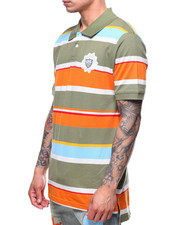 Parish - SS STRIPE POLO