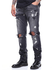 True Religion - ROCCO SKINNY JEAN - DARK CYBER REBEL-2189462
