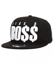 Accessories - Like A Boss Snapback Hat