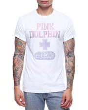 Pink Dolphin - PLUS RHINESTONE TEE-2191497
