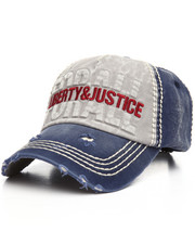 Hats - Liberty & Justice For All Vintage Ball Cap