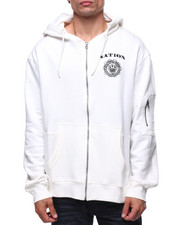 Parish - FINEST CREST ZIP UP HOODY
