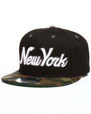 Accessories - New York Script Snapback Hat