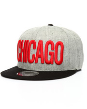 Hats - Chicago City Snapback Hat
