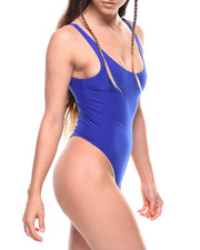 Women - Solid Tank Bodysuit