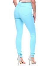 Bottoms - Hi Waist Stretch Jean