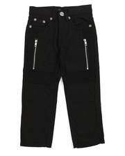 Bottoms - Bull Denim Moto Pant/Zipper And Porkchop Pocket (4-7)