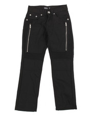 Bottoms - Bull Denim Moto Pant/Zipper And Porkchop Pocket (8-20)