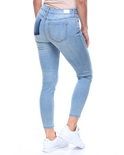 Skinny - Ankle Skinny Jean/Shadow Back Pocket