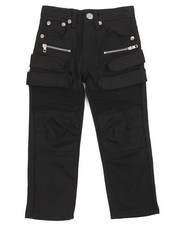 Bottoms - Bull Denim Moto Jean w/Strap (4-7)