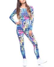 Fashion Lab - L/S Printed Jumpsuit