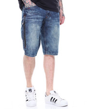 CALIBER - ABOVE THE CLOUDS WASHED DENIM SHORT-2192255