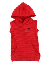 Reebok - Weekender Short Sleeve Hooded Tee (4-7)-2191113