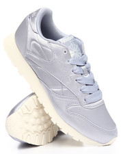 Reebok - Classic Leather Satin Sneakers