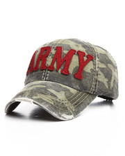 Buyers Picks - Army Distressed Strapback Cap